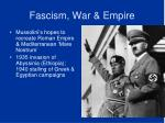 fascism war empire