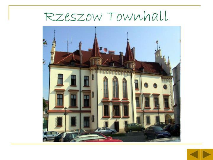 Rzeszow townhall