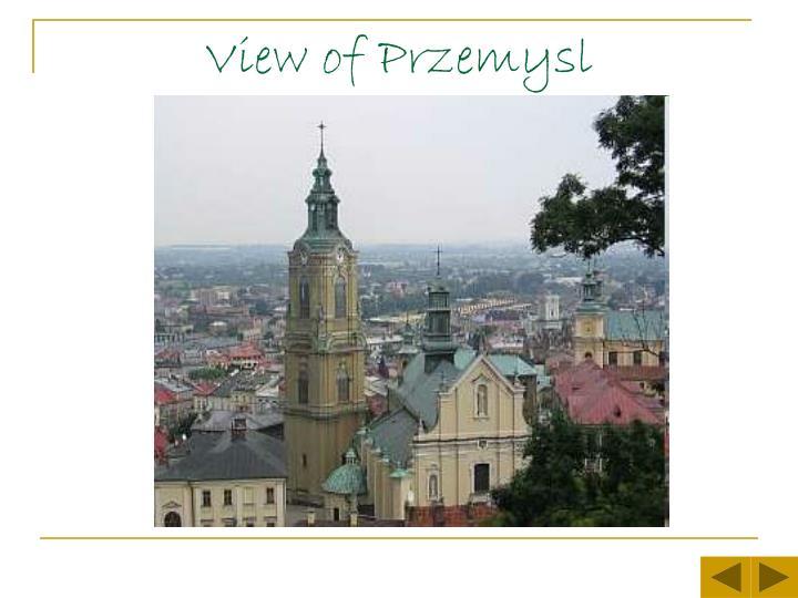 View of Przemysl