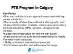 fts program in calgary