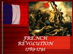 fre nch revolution 1789 1791