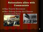 nationalists allies with communists