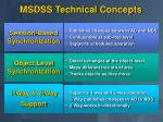msdss technical concepts