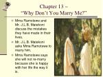chapter 13 why don t you marry me
