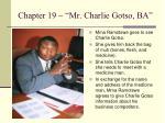 chapter 19 mr charlie gotso ba