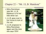 chapter 22 mr j l b matekoni