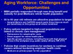 aging workforce challenges and opportunities