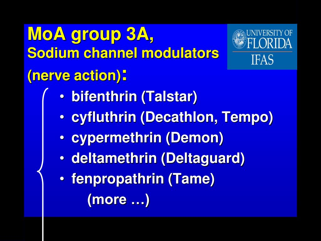 PPT - Know Mode of Action Groups to Manage Insecticide