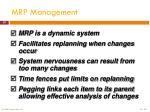mrp management