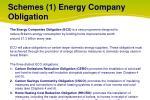 schemes 1 energy company obligation