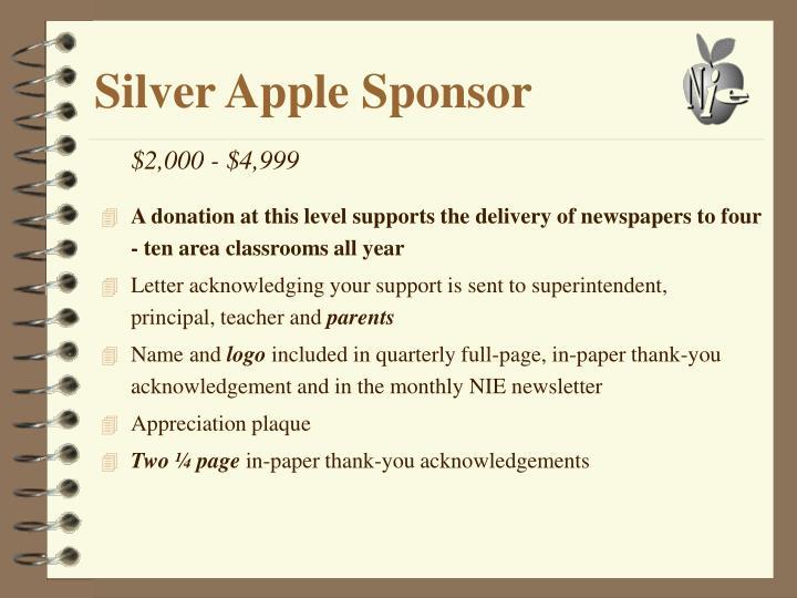 Silver Apple Sponsor