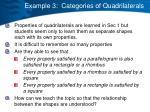 example 3 categories of quadrilaterals