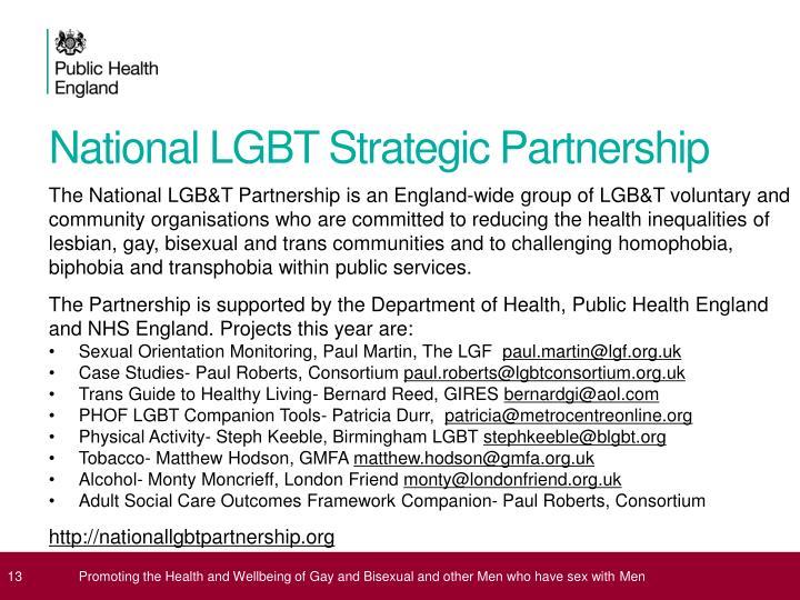 National LGBT Strategic Partnership