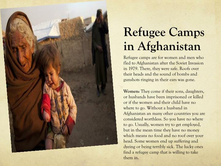 Refugee Camps in Afghanistan