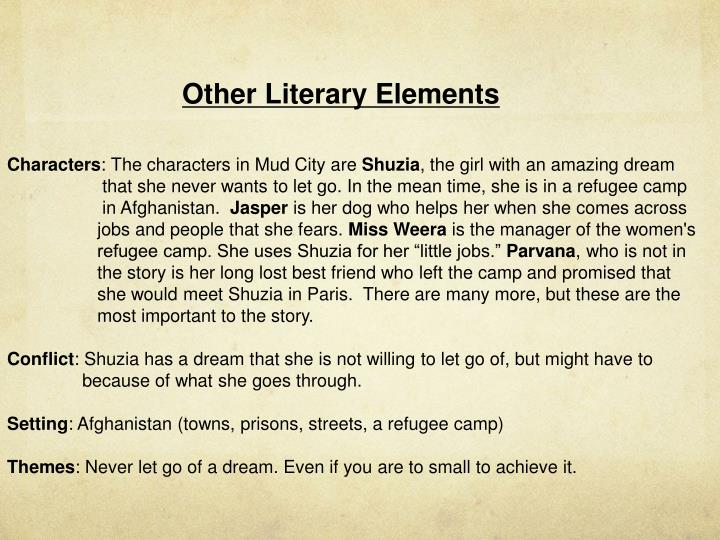 Other Literary Elements