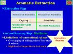 aromatic extraction