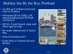 holiday inn by the bay portland