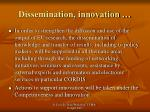 dissemination innovation