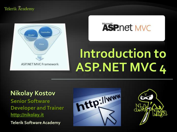 PPT - Introduction to ASP NET MVC 4 PowerPoint Presentation - ID:6692176