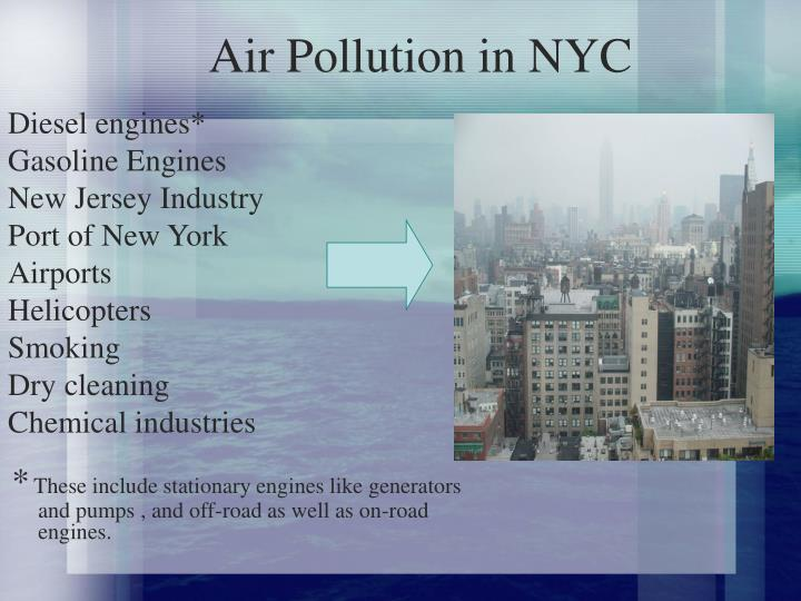 Air Pollution in NYC