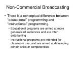 non commercial broadcasting2