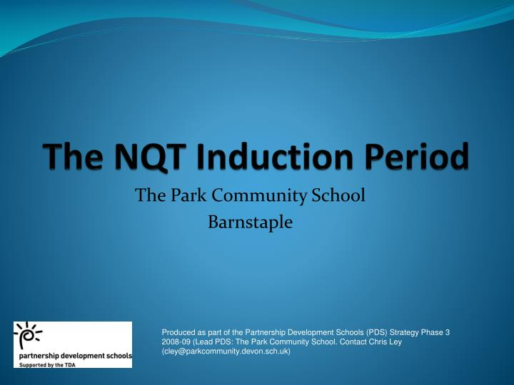 the nqt induction period n.