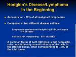 hodgkin s disease lymphoma in the beginning2