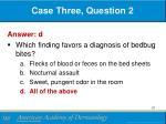 case three question 21