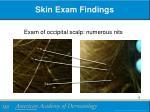 skin exam findings1