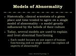 models of abnormality2