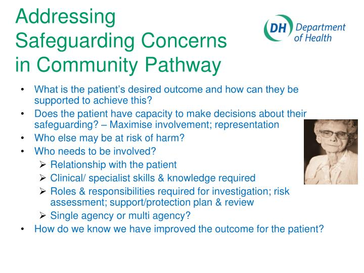 What is the patient's desired outcome and how can they be supported to achieve this?