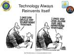 technology always reinvents itself