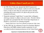 libby zion case law 3