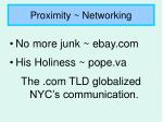 proximity networking8