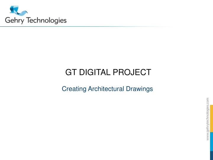 gt digital project n.