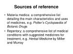 sources of reference1