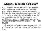when to consider herbalism2