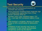 test security1