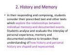 2 history and memory