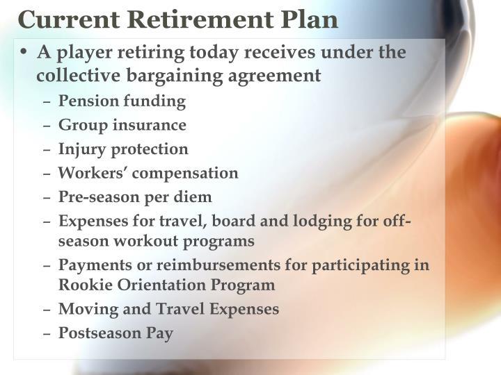 Current Retirement Plan