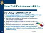 fraud risk factors vulnerabilities1