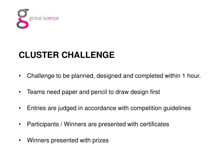 CLUSTER CHALLENGE