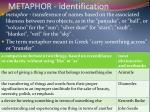 metaphor identification