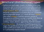structural distributional types