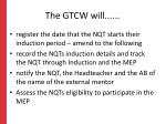 the gtcw will