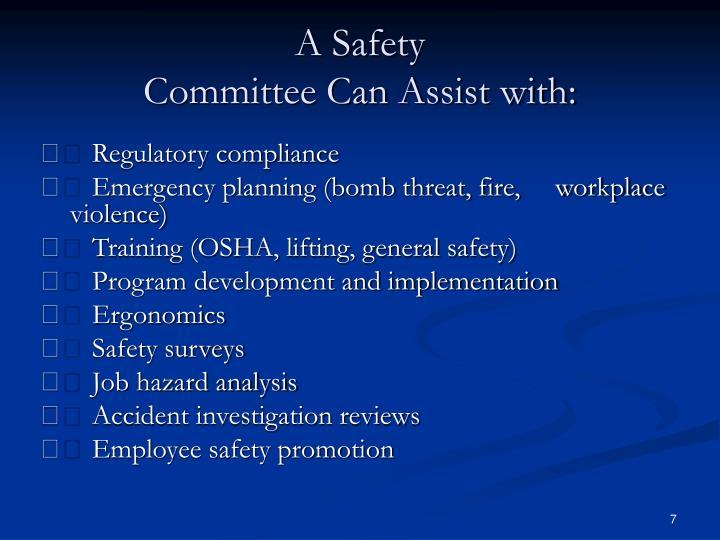 A Safety