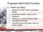 proposed 2004 2005 priorities3