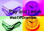 pay and leave