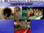 cadets at work2