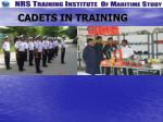 cadets in training1